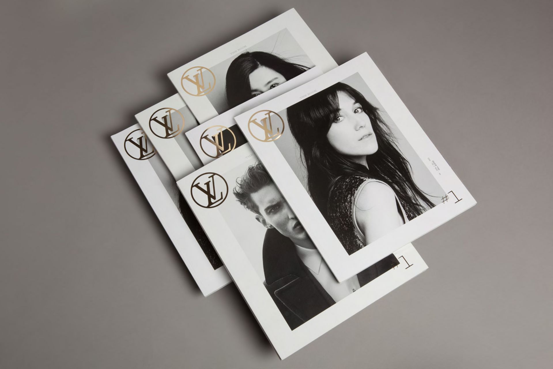 Louis Vuitton magazine design