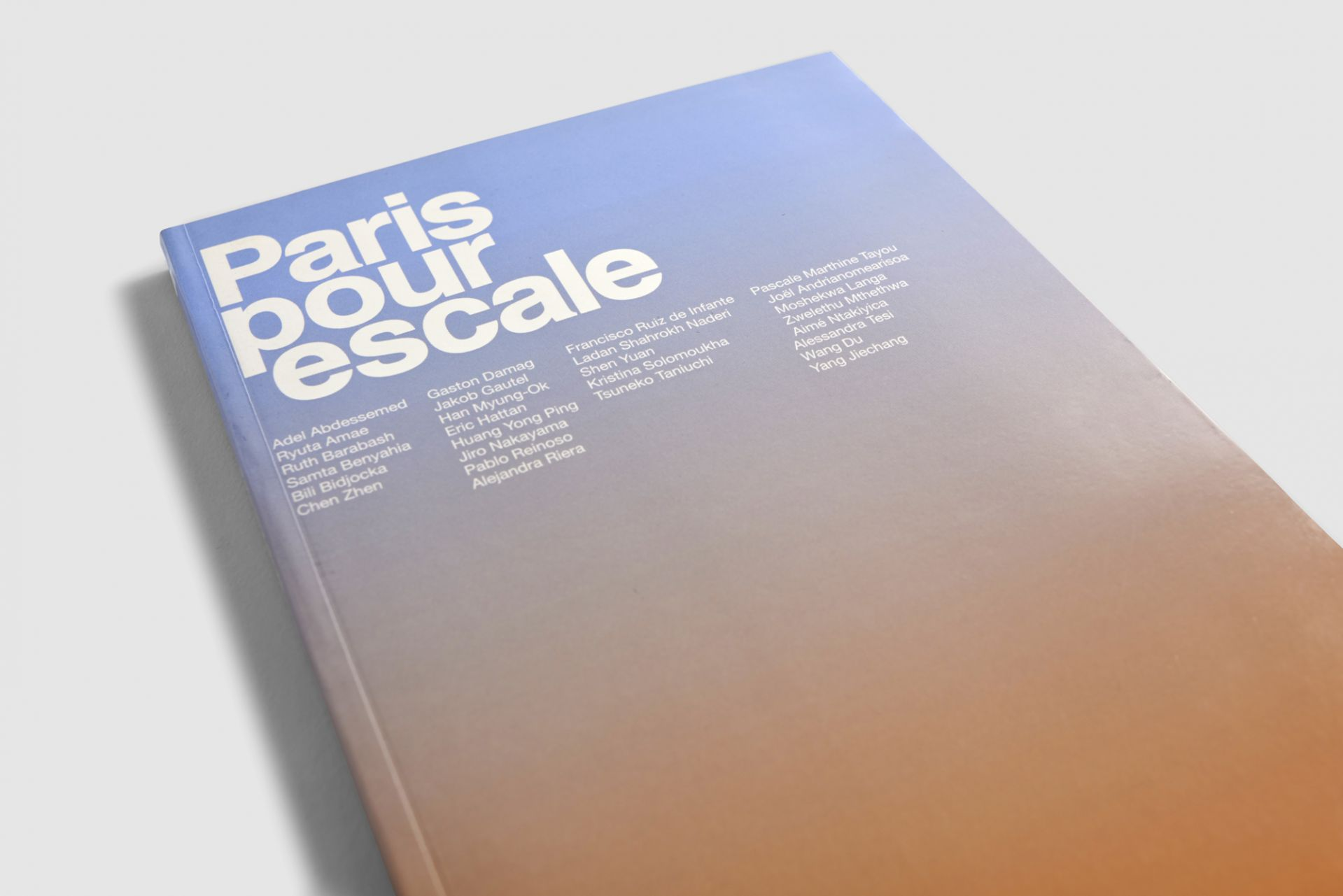 Paris Pour Escale art book