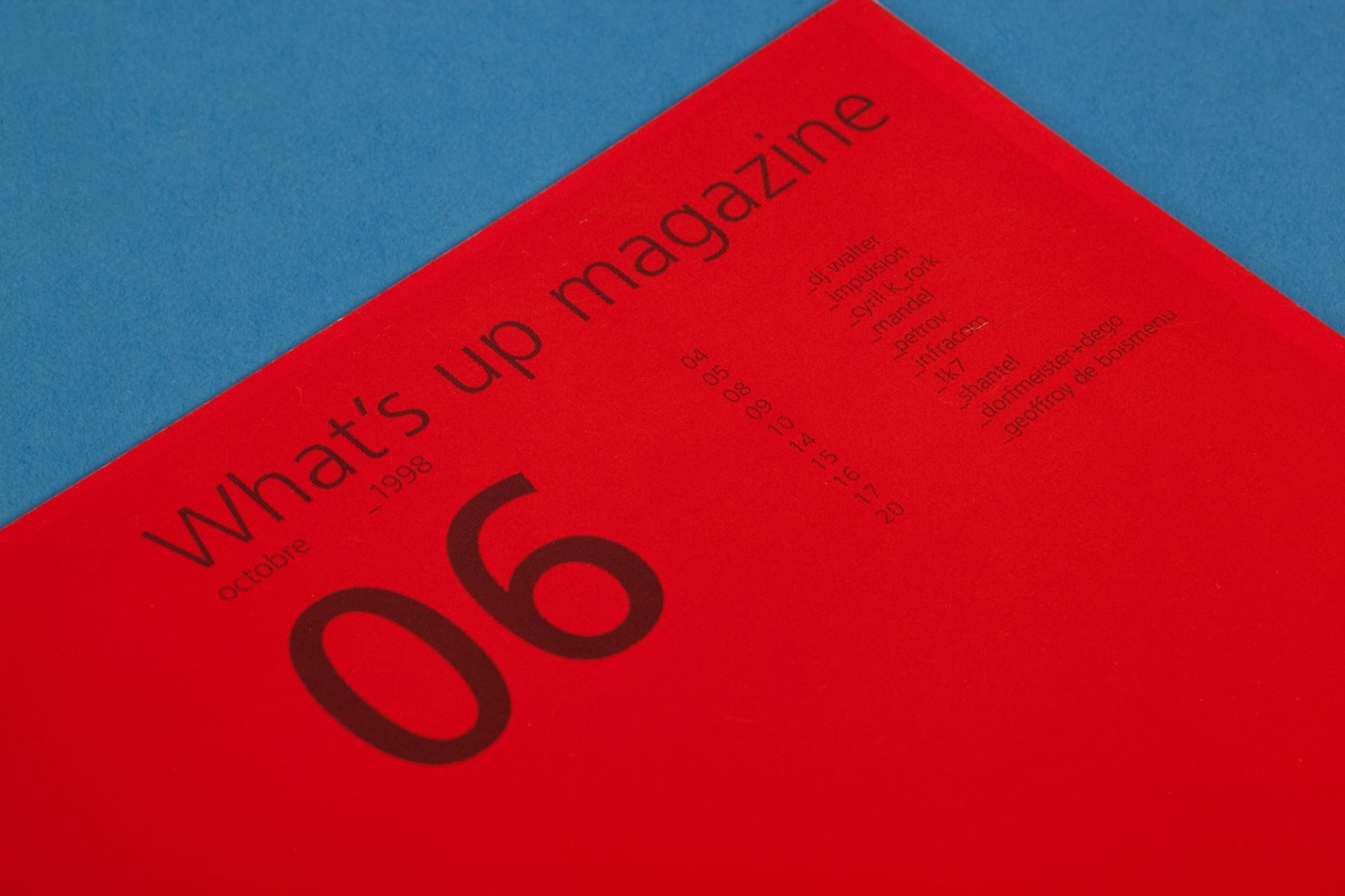 magazine design and photography