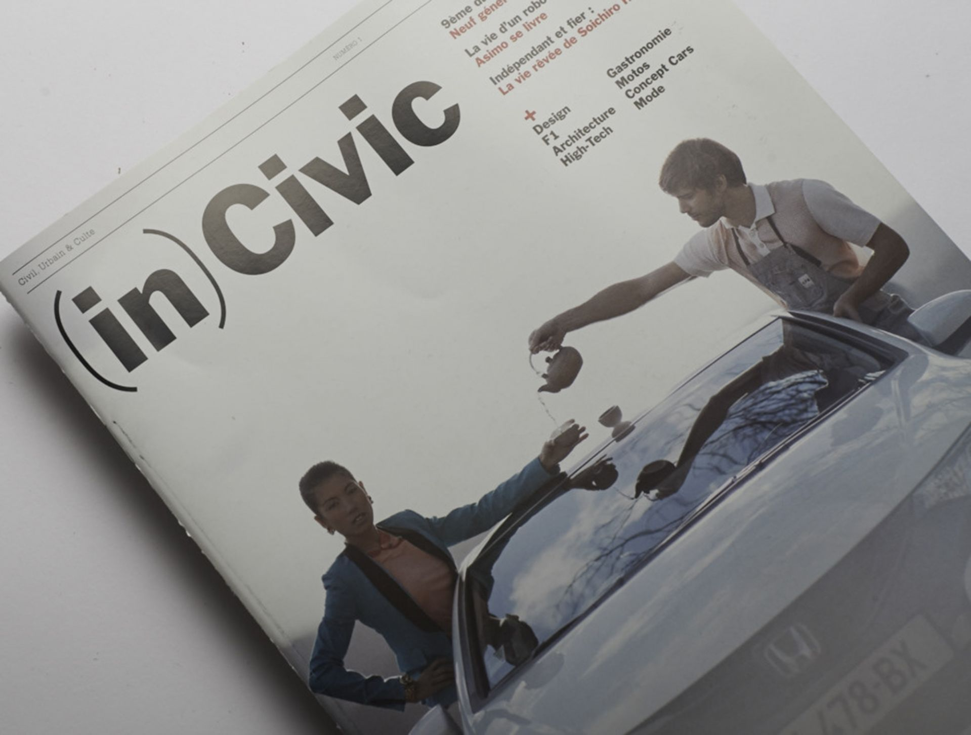 (in)Civic brand magazine