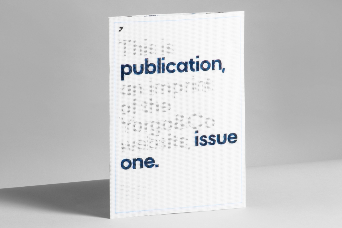 Publication issue one